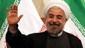 der iranische Praesident Hassan Rohani dpa
